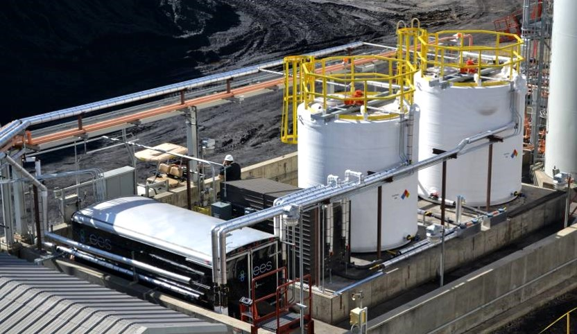 CoalTreat® boiler slag mitigation additive is applied to the fuel pre-combustion